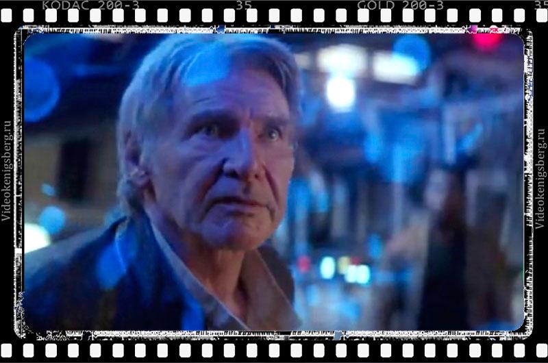 Кадр из 7 эпизода Звездных войн